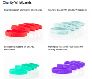 Clubit Charity Wristbands