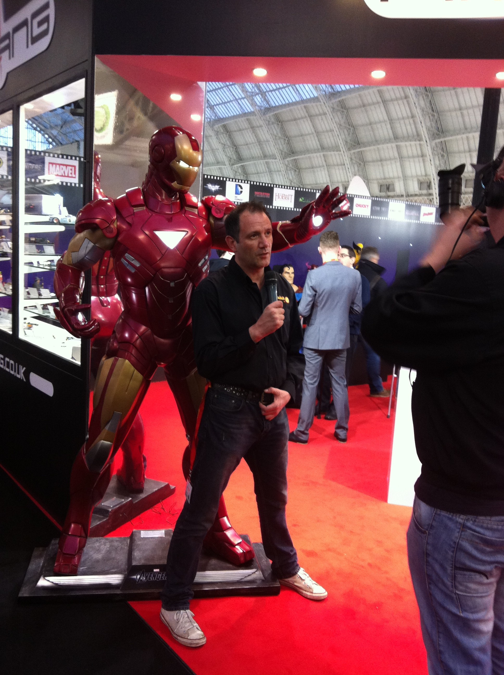 Life size Iron Man Model Statue
