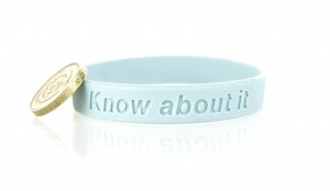 Charity Wristband Supporting Prostate Cancer UK