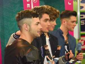 Union J Toy Doll Launch at London Toy Fair