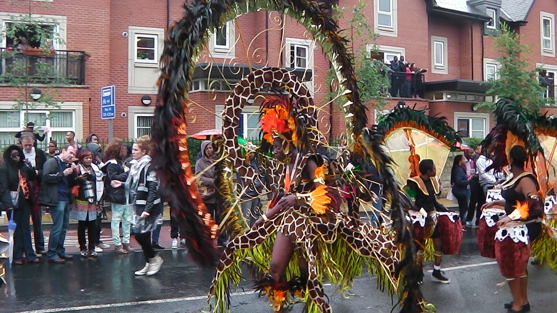 Amazing Costumes at The Leeds West Indian Carnival 2014
