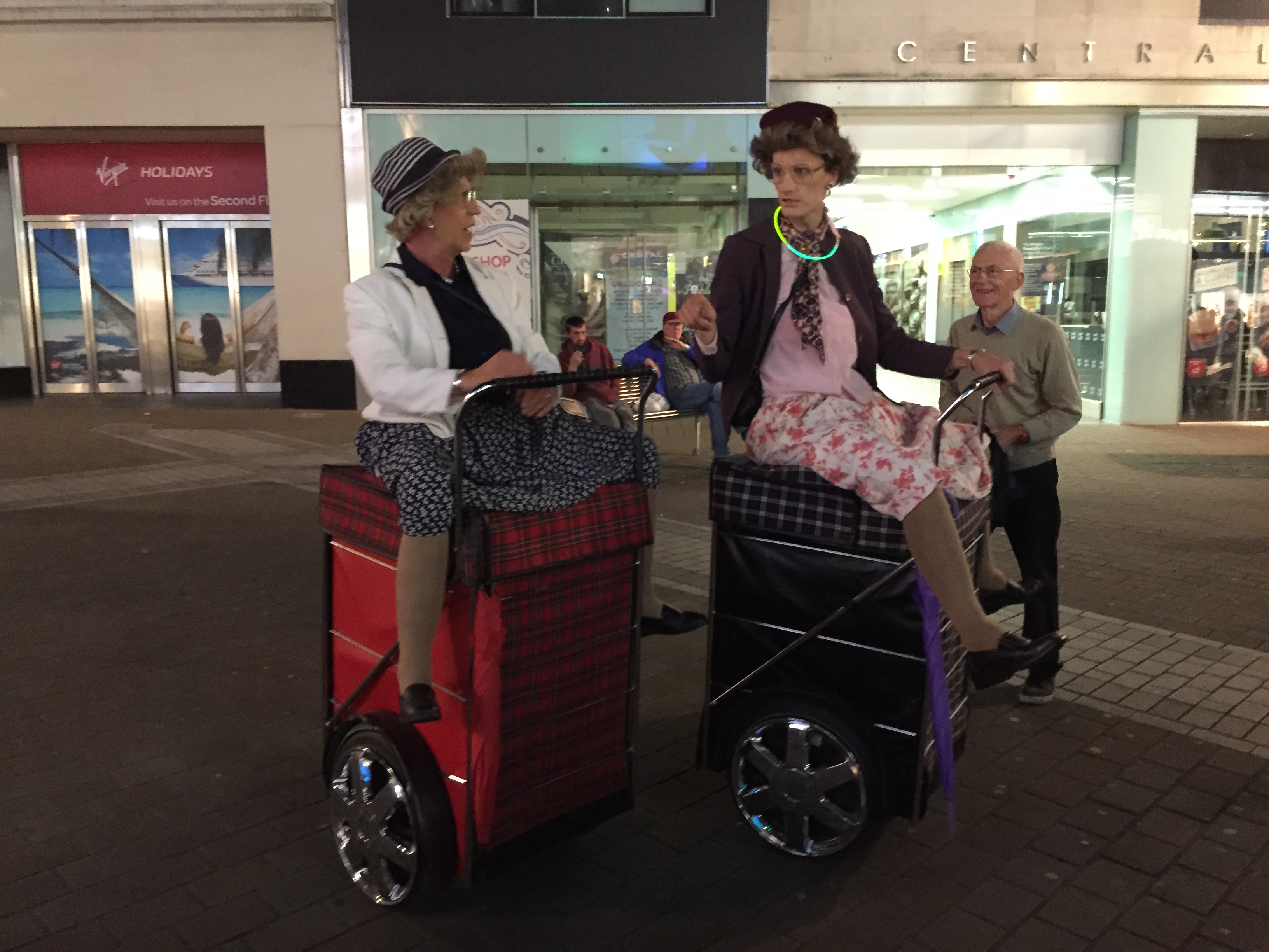 Segway Dancing Grannies