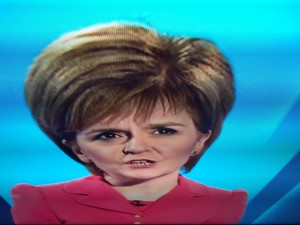Nicola Sturgeon on UK Election Debate 2015