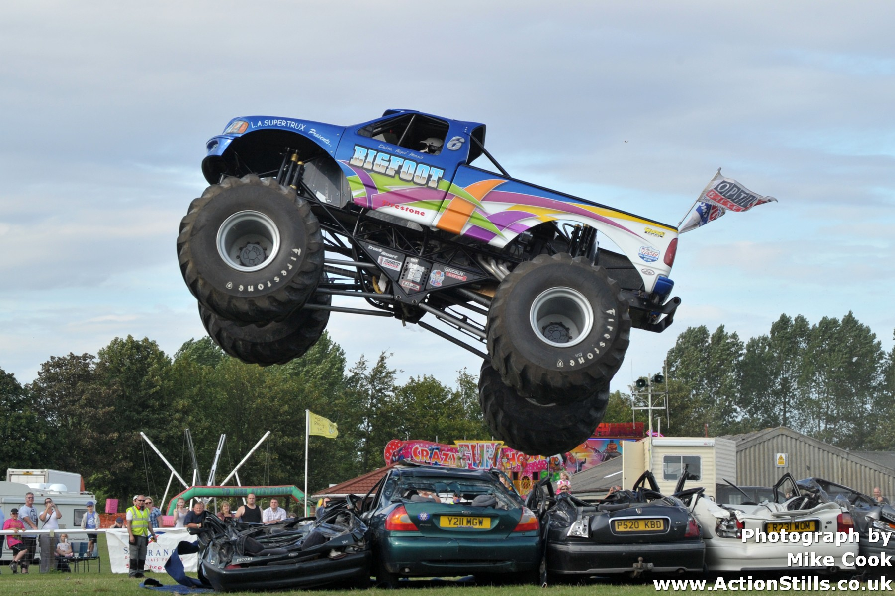 Bigfoot Monster Truck Number Clubit Tv