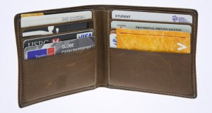 Vinco in a wallet