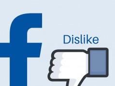 Facebook Dislike Function