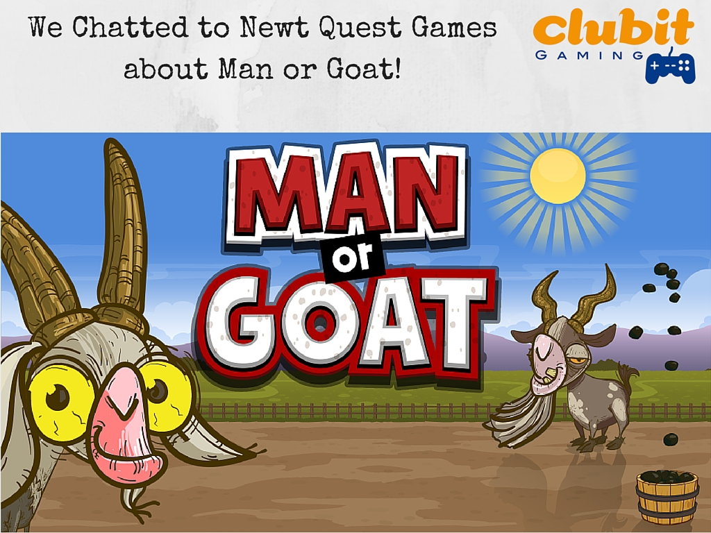 Man or goat home screen image