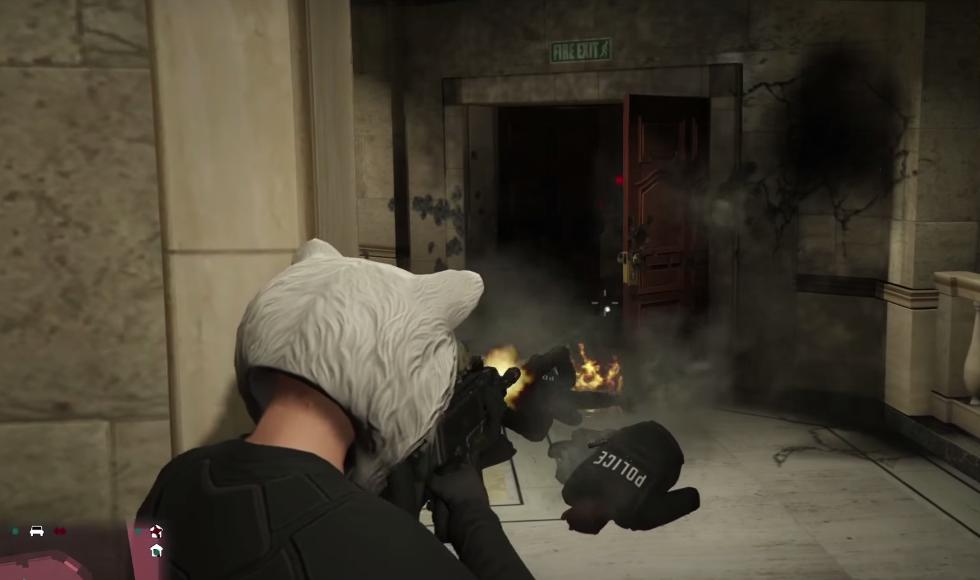 GTA V - Gameplay, Screen Grab