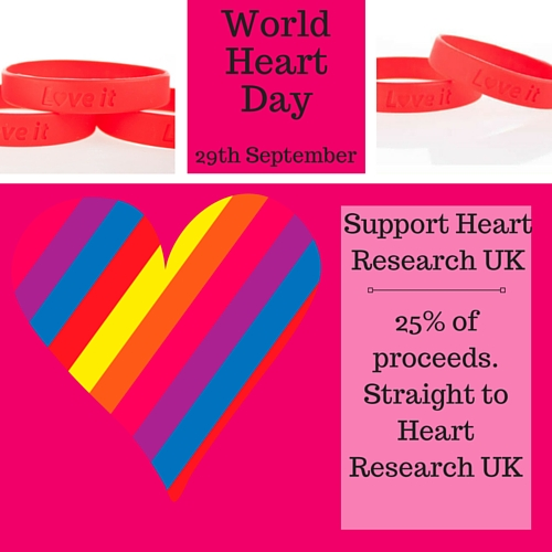 Support Heart research UK on World Heart Day