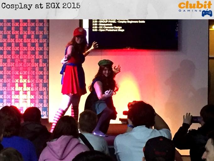 Cosplay at EGX 2015