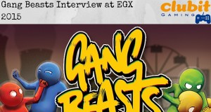 Clubit interviews Gang Beasts at EGX 2015