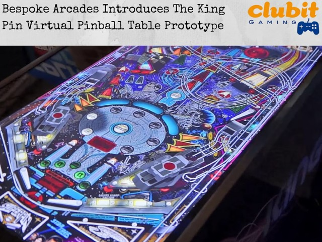King Pin Virtual Pinball prototype