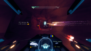 Gorgeous Sublevel Zero gameplay screan grab