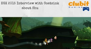 Coatsink's Shu speaking to Clubit at EGX 2015