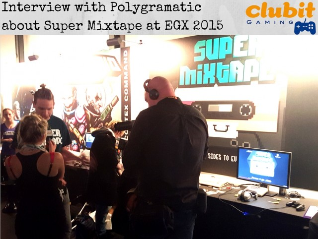 Interview with Polygramatic about Super Mixtape at EGX 2015