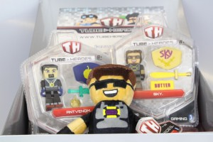 Clubit.tv Unboxing Tube Heroes by Jazwares