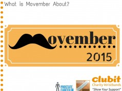 What Is Movember About?