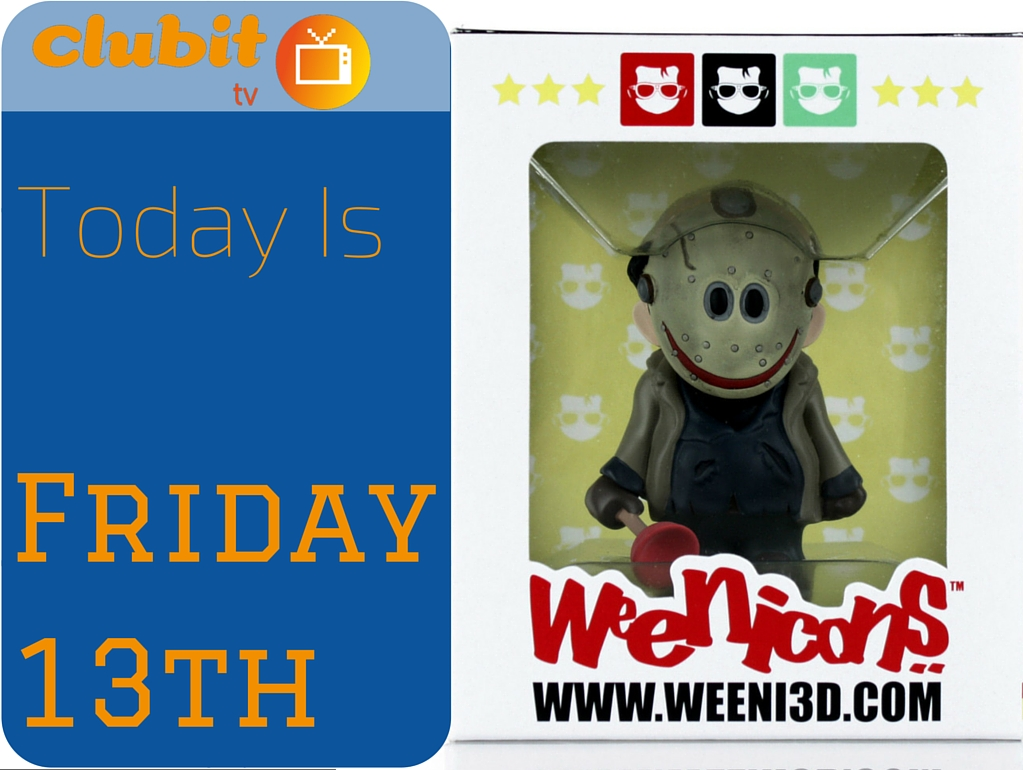 JASON VOORHEES Friday The 13th NEW Weenicons
