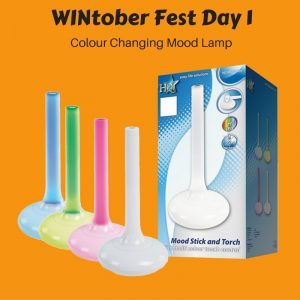 WINtober Fest Day 1 - Colour Changing Mood Lamp