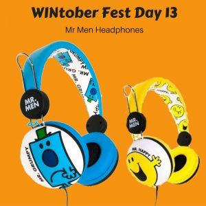WINtober Fest Day 13 - Mr Men Headphones
