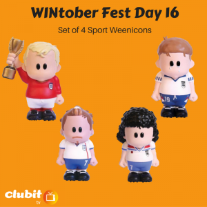 WINtober Fest Day 16 - Set of 4 Sport Weenicons