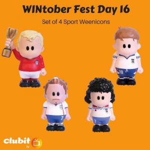 WINtober Fest Day 16 - Set of 4 Sport Weenicons
