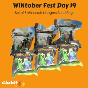 WINtober Fest Day 19 - Set of 6 Minecraft Hangers Blind Bags