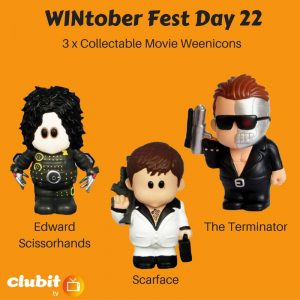 WINtober Fest Day 22 - 3 x Collectable Movie Weenicons