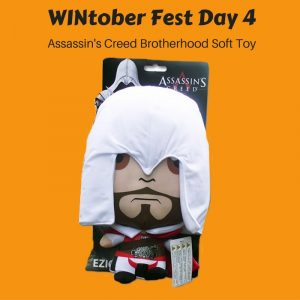WINtober Fest Day 4 - Assassin's Creed Soft Toy