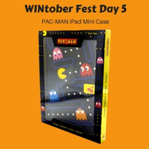 WINtober Fest Day 5 - PAC-MAN iPad Mini Case