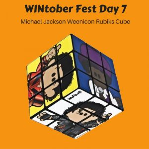 WINtober Fest Day 7 - Michael Jackson Weenicon Rubiks Cube
