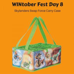 WINtober Fest Day 8 - Skylanders Swap Force Carry Case
