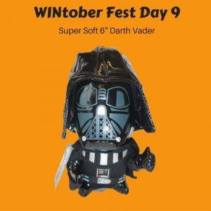 WINtober Fest Day 9 - Super Soft 6- Darth Vader