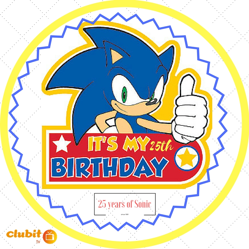 Happy 25th Birthday to Sonic the Hedgehog