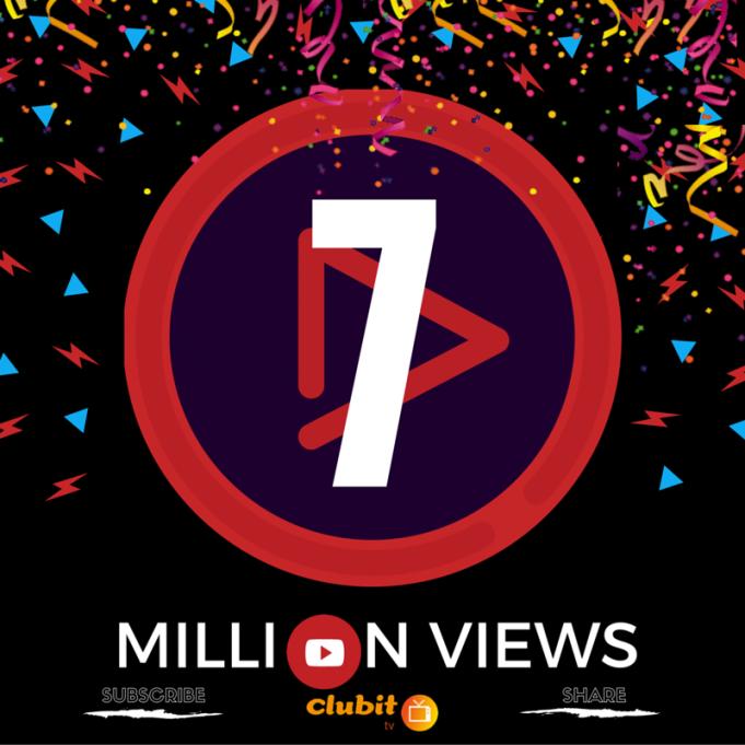 Clubit TV Passes 7 Million Views on You Tube