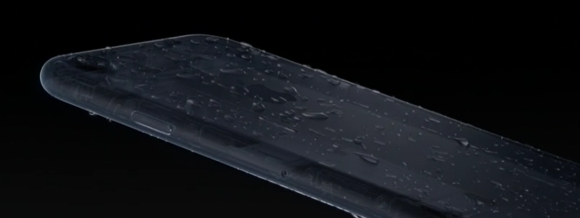 iPhone 7 and iPhone 7 Plus Water Resistant