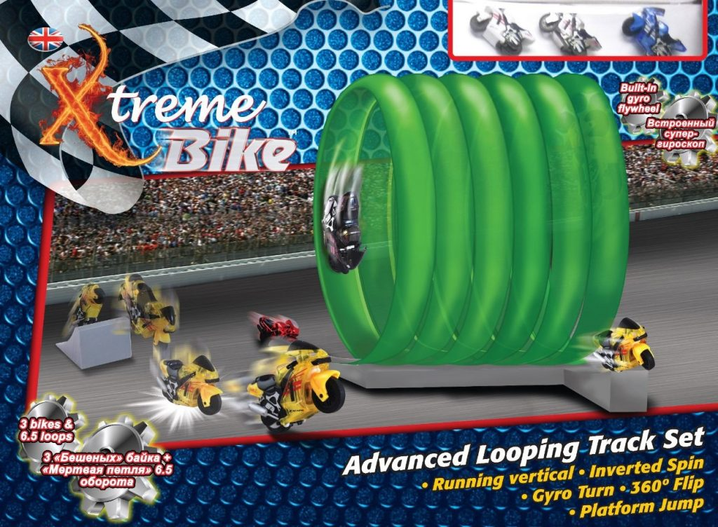 Xtreme Bike Jumping and Looping Track Deluxe Sets