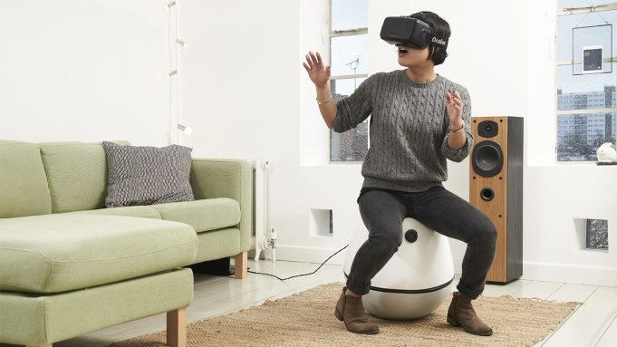 VRGO Chair for virtual reality control