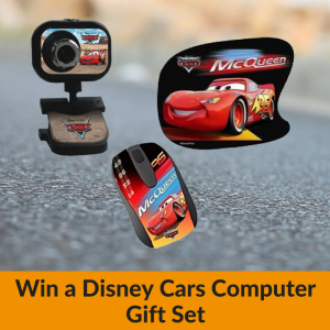 Win a Disney Cars Computer Gift Set