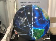 Magic Planet VR Globe at CES 2017