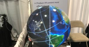 Magic Planet VR Globe at CES 2017
