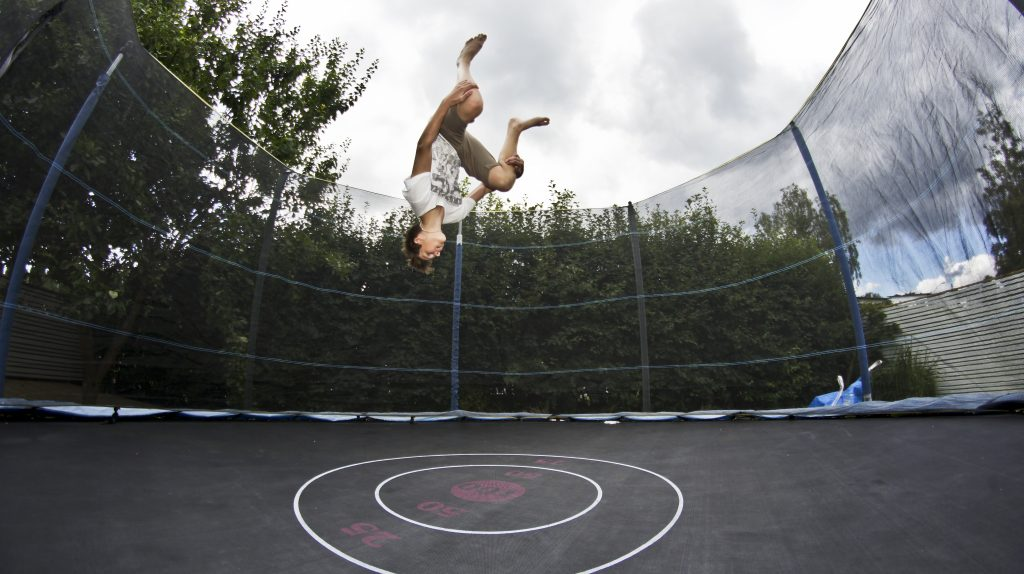 Trampoline Invented by a child