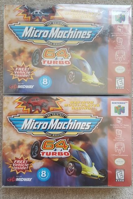 N64 Micro Machines