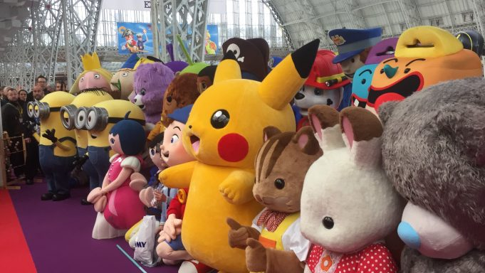 Toy Fair Characters