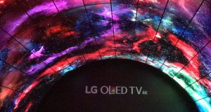 LG OLED TV Tunnel at CES 2017