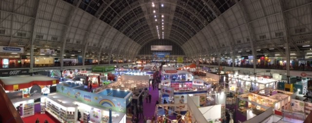 London Toy Fair Exhibition Hall