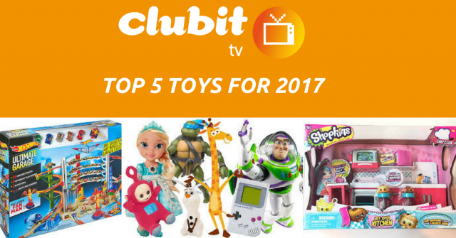 Top 5 toys
