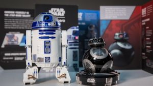 R2-D2, BB-9E, Sphero