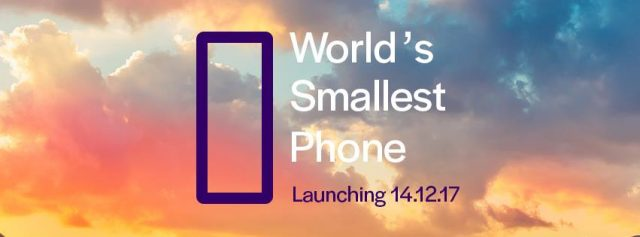 World's Smallest Phone