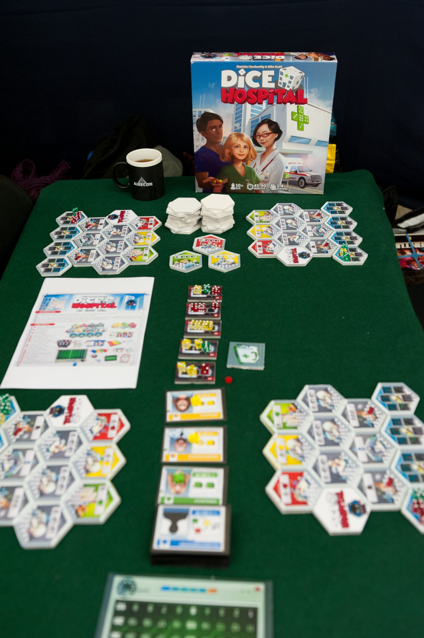 Airecon 2018, dice hospital
